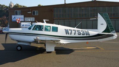 N7753M - Mooney M20F Executive 21 - Private