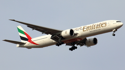 A picture of A6EPH - Boeing 77731H(ER) - Emirates - © Sander in West-Africa