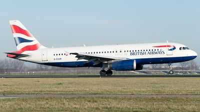 G-EUUR - Airbus A320-232 - British Airways