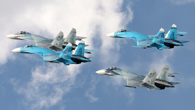 RF-92210 - Sukhoi Su-27SM Flanker - Russia - Air Force