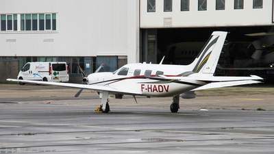 A picture of FHADV - Piper PA46500TP - [4697305] - © C. v. Grinsven
