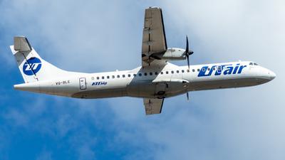 VQ-BLE - ATR 72-212A(500) - UTair Aviation
