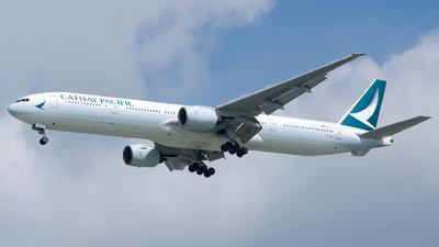 B-HNX - Boeing 777-31H - Cathay Pacific Airways