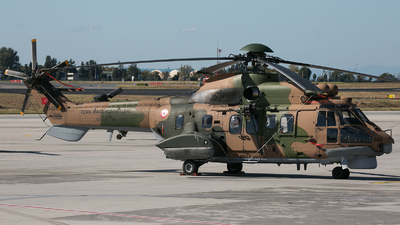 02-2556 - Eurocopter AS 532AL Cougar - Turkey - Air Force