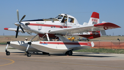 N8512L - Air Tractor AT-802F Fire Boss - Private
