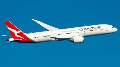 VH-ZNG - Boeing 787-9 Dreamliner - Qantas