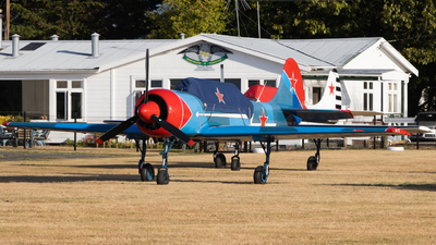 ZK-YAQ - Yakovlev Yak-52 - Private