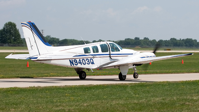 A picture of N9403Q - Beech 58 Baron - [TH54] - © Jeremy D. Dando