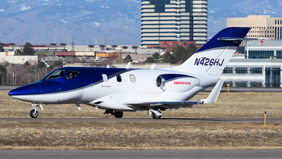 N426HJ - Honda HA-420 HondaJet - Private