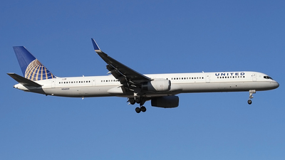 A picture of N56859 - Boeing 757324 - United Airlines - © Philipp Schuetz