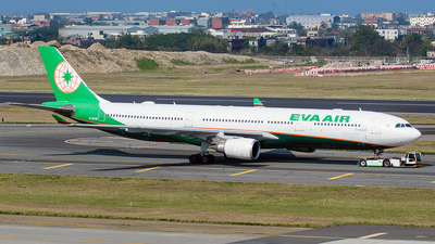 A picture of B16338 - Airbus A330302 - EVA Air - © ECHO
