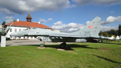 05 - Mikoyan-Gurevich MiG-29B Fulcrum - Hungary - Air Force