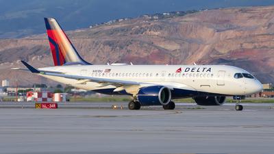 N101DU - Airbus A220-171 - Delta Air Lines