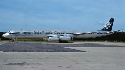 N792FT - Douglas DC-8-63(CF) - Flying Tigers