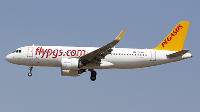 A picture of TCNCI - Airbus A320251N - Pegasus Airlines - © Bora Polater