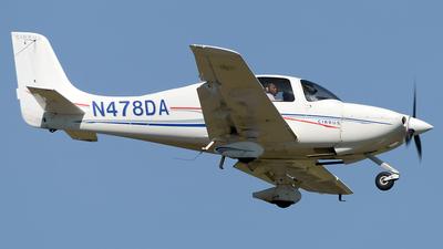 N478DA - Cirrus SR20 - Aerosim Flight Academy