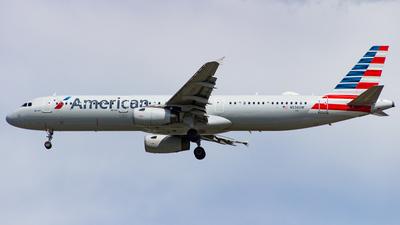 N536UW - Airbus A321-231 - American Airlines