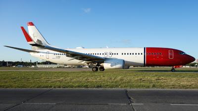 A picture of LVIQZ - Boeing 7378JP - JetSMART - © Fernando Ariel Torre