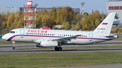 RA-89040 - Sukhoi Superjet 100-95B - Rossiya - Special Flight Squadron