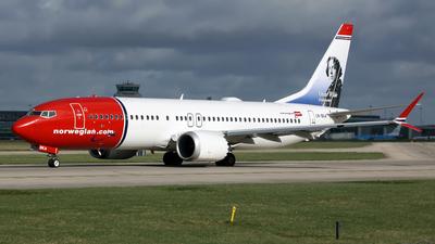 A picture of LNBKA - Boeing 737 MAX 8 - Norwegian - © DarrenWilson
