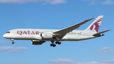 A picture of A7BCL - Boeing 7878 Dreamliner - Qatar Airways - © Martin Tomanov