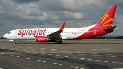 OE-IGF - Boeing 737-85R - SpiceJet