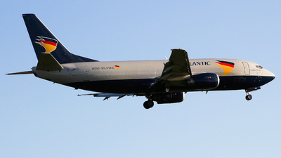 G-JMCU - Boeing 737-301(SF) - West Atlantic Airlines