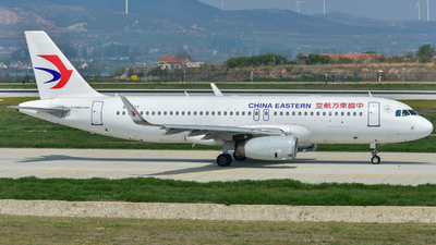 A picture of B1607 - Airbus A320232 - China Eastern Airlines - © Helal