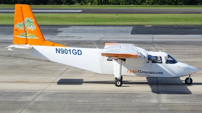 N901GD - Britten-Norman BN-2A-26 Islander - Air Flamenco