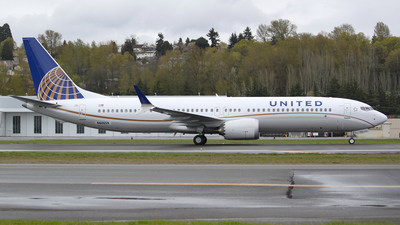 N60659 - Boeing 737-9 MAX - United Airlines