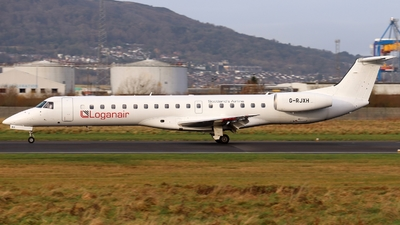 A picture of GRJXH - Embraer ERJ145EP - Loganair - © Ethan Allen
