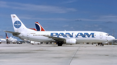 N406KW - Boeing 737-4Q8 - Pan Am