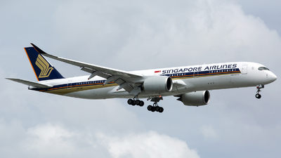 9V-SJB - Airbus A350-941 - Singapore Airlines