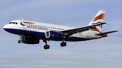 G-EUOD - Airbus A319-131 - British Airways