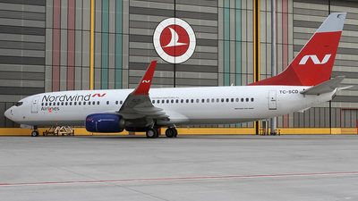 A picture of TCSCD - Boeing 7378Q8 - Turkish Airlines - © Ilgaz DEGER
