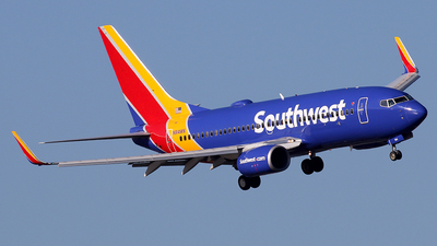 N914WN - Boeing 737-7H4 - Southwest Airlines