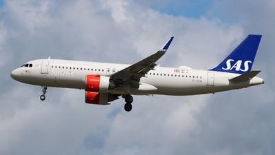 A picture of SERON - Airbus A320251N - SAS - © Valentin Jahn