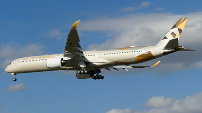 F-WZNM - Airbus A350-1041 - Etihad Airways
