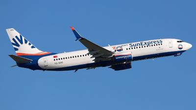 A picture of TCSOC - Boeing 7378HC - SunExpress - © Darius Swoboda