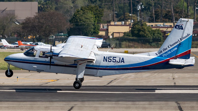 N55JA - Britten-Norman BN-2 Islander - Channel Islands Aviation