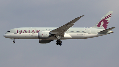A picture of A7BCT - Boeing 7878 Dreamliner - Qatar Airways - © wroblik75