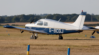 G-BCGJ - Piper PA-28-140 Cherokee Cruiser - Private