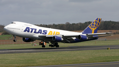 N534MC - Boeing 747-2F6B(SF) - Atlas Air