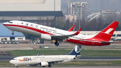 B-5370 - Boeing 737-8Q8 - Shanghai Airlines