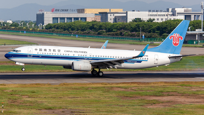 A picture of B5746 - Boeing 73781B - China Southern Airlines - © Haruka_Yonetsu