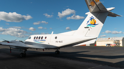 P2-ALC - Beechcraft 200C Super King Air - Coral Sun Airways