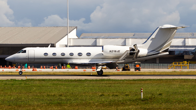 N218JE - Gulfstream G-IV(SP) - Private
