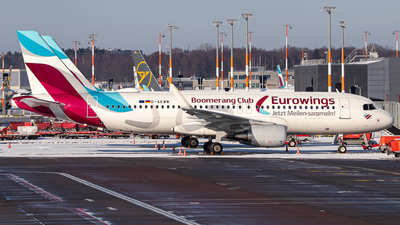 A picture of DAEWM - Airbus A320214 - Eurowings - © Boscgnspotter