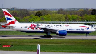 A picture of GYMML - Boeing 777236(ER) - British Airways - © kchavgeek96