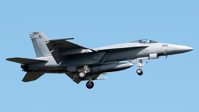 169734 - Boeing F/A-18E Super Hornet - United States - US Navy (USN)